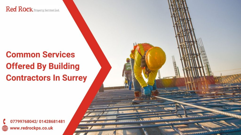 Common Services Offered By Building Contractors In Surrey